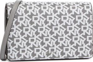 Torebka DKNY na ramię w stylu casual średnia