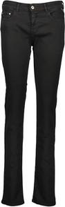 Czarne jeansy Replay w stylu casual z bawełny