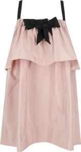 Sukienka N21 mini z jedwabiu