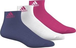 Skarpetki Adidas z bawełny dla dziewczynek