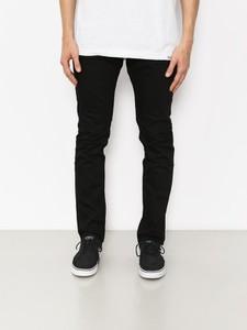 Czarne spodnie DC Shoes z bawełny