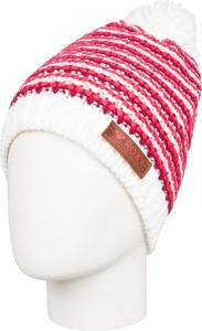 Czerwona czapka Roxy w street stylu