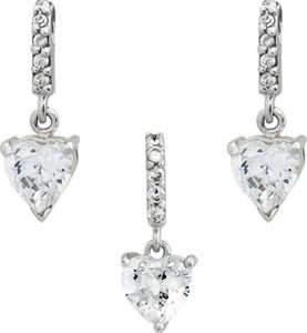 Braccatta ingrid komplet srebrnej biżuterii z cyrkoniami