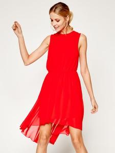 Sukienka Silvian Heach mini bez rękawów asymetryczna