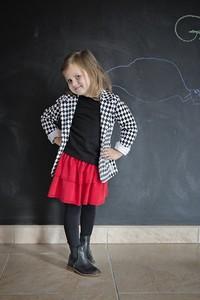 Spódniczka dziewczęca Gapula z bawełny