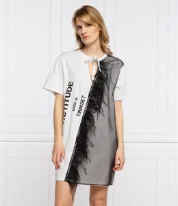 Sukienka My Twin mini z krótkim rękawem w stylu casual