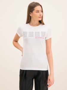 T-shirt Hugo Boss z okrągłym dekoltem