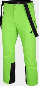 Zielone spodnie sportowe 4F w sportowym stylu