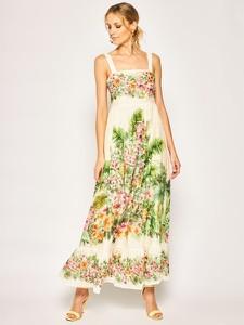 Sukienka Twinset maxi w stylu boho na ramiączkach