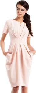 Sukienka MOE mini z krótkim rękawem