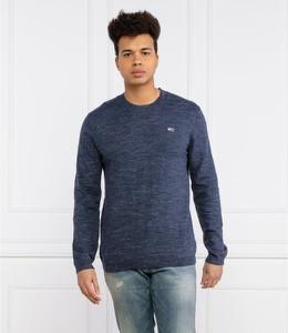 Sweter Tommy Jeans w stylu casual z okrągłym dekoltem