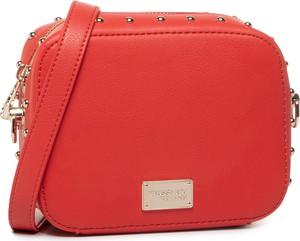 Czerwona torebka Trussardi Jeans mała w stylu casual
