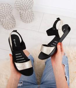 280fac2ca40e1 Sandały Super Mode ze skóry ekologicznej w stylu casual