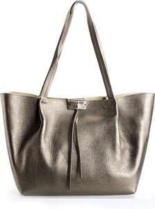 Srebrna torebka ubierzsie.com duża na ramię