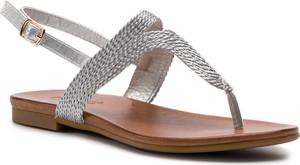 Sandały Inuovo z klamrami ze skóry ekologicznej