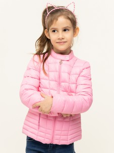 Różowa kurtka dziecięca Guess