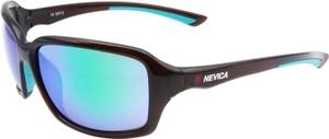 Błękitne okulary damskie Factcool