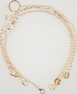 Reserved - Potrójna bransoletka z ozdobami - Złoty