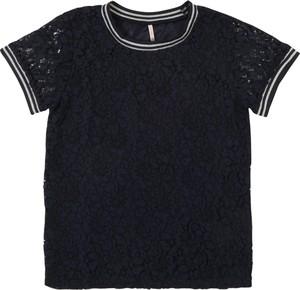 Czarna bluzka dziecięca Kids Only z krótkim rękawem
