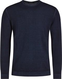 Granatowy sweter Digel