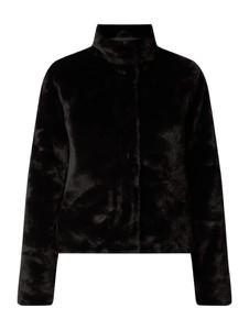 Czarny płaszcz Only w stylu casual