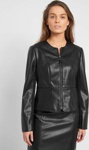 Czarna kurtka ORSAY ze skóry ekologicznej