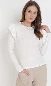 Bluzka born2be w stylu casual z długim rękawem z okrągłym dekoltem