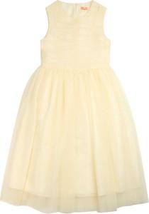 Sukienka Elisabetta Franchi mini bez rękawów z tiulu