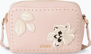 Różowa torebka Liu Jo Collection mała z aplikacjami