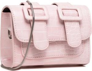 Różowa torebka DeeZee na ramię