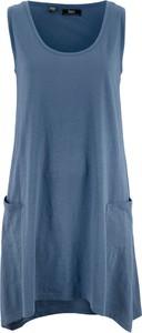 Niebieska sukienka bonprix bpc bonprix collection mini