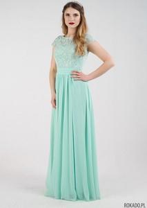 Zielona sukienka Rokado