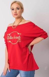 Czerwona bluzka Sheandher.pl