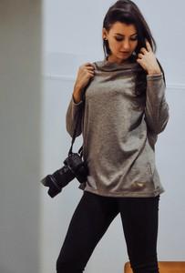 Brązowy sweter Byinsomnia