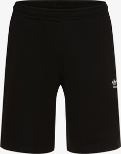 Czarne spodenki Adidas Originals z dresówki