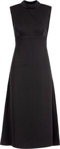 Czarna sukienka Marciano bez rękawów midi