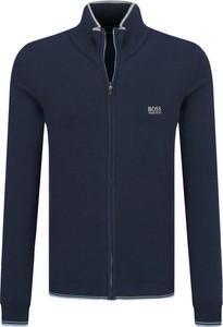 Niebieski sweter Boss Athleisure
