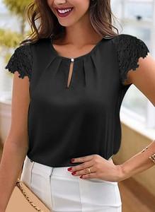 Czarna bluzka Sandbella