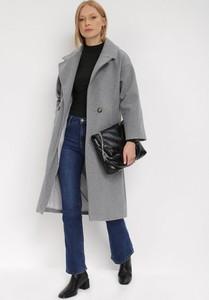Płaszcz born2be długi w stylu casual