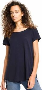 T-shirt Tommy Jeans z dżerseju z krótkim rękawem