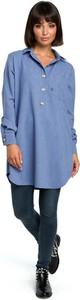 Niebieska koszula MOE