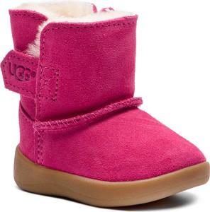 Różowe buty dziecięce zimowe UGG Australia