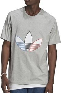 T-shirt Adidas z bawełny w sportowym stylu