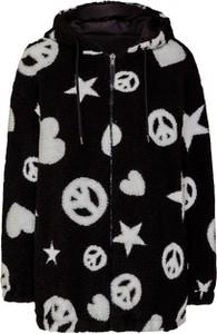 Kurtka Love Moschino z tkaniny w stylu casual krótka