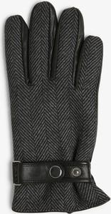 Czarne rękawiczki James
