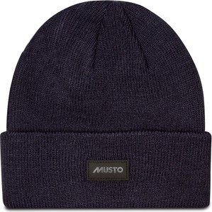 Granatowa czapka Musto