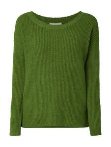 Zielony sweter Esprit z bawełny w stylu casual