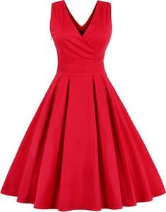 Czerwona sukienka Mixinni