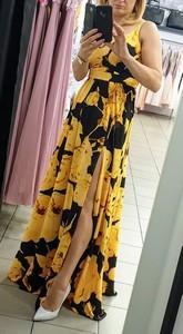 Sukienka Emo Sukienki maxi z okrągłym dekoltem na ramiączkach