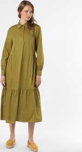 Zielona sukienka Esprit koszulowa w stylu casual